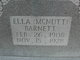 Ella B. <I>McNutt</I> Barnett