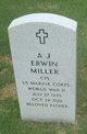 Profile photo:  A. J. Erwin Miller