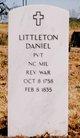 Profile photo:  Littleton Daniel