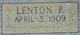 Lenton P. Frye