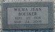 Wilma Jean <I>McMurray</I> Boesker