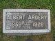 Profile photo:  Albert Ardery