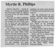 Myrtle Darlene <I>Lawton</I> Phillips