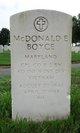 "Corp McDonald E. ""Mack"" Boyce"