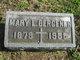 Profile photo:  Mary L <I>Hineman</I> Bergener