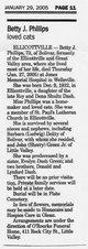 Betty Jane <I>Dash</I> Phillips