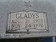 Profile photo:  Gladys <I>Hobbs</I> Abernathy