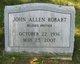 John Allen Robart