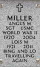 Profile photo:  Angus M Miller