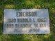Harold Logan Emerson