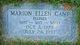Profile photo:  Marion Ellen <I>Higgins</I> Gant
