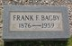 Franklin Fincher Bagby