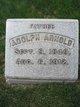 Adolph Frederick William Arnold