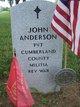 Profile photo:  John Anderson