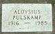Profile photo:  Aloysius Pulskamp