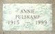 Profile photo:  Annie Pulskamp