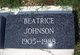 Beatrice Johnson
