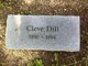 """Claud Cleveland """"Cleve"""" Dill"""