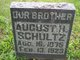 Profile photo:  August H. Schultz