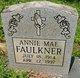 Profile photo:  Annie Mae Faulkner