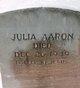 Profile photo:  Julia Aaron