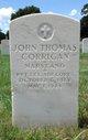PFC John Thomas Corrigan