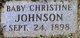 Profile photo:  Christine Johnson