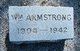 William James Armstrong, Sr