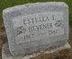Profile photo:  Estella E. <I>Hathaway</I> Hevener