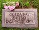 Golda Fay <I>Pittman</I> Dutro