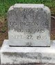 Profile photo:  A. M. Covington, Jr