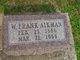 """William Franklin """"Frank"""" Aikman"""
