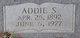 "Profile photo:  Ada ""Addie"" <I>Strickland</I> Collins"