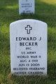Profile photo:  Edward J. Becker