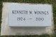 Profile photo:  Kenneth Wayne Winings