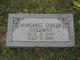 Margaret <I>Conger</I> Coleman