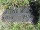 Profile photo:  Alfred Swen Melin
