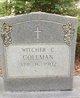 Witcher C Coleman
