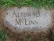 Profile photo:  Alton B. McLinn
