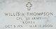 Willis A. Thompson