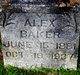 Profile photo:  Alex Baker