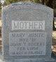 Mary Ausite <I>VanSickle</I> Rogers