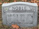 Profile photo:  Albert W. Noble