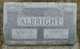 Mary E. <I>Carper</I> Albright