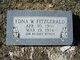Edna W <I>Williams</I> Fitzgerald