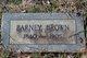 Barney Stevens Brown
