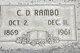 Commodore Decatur Rambo