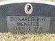 Donald Ray Menefee
