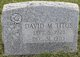 David M. Titus