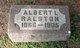 Profile photo:  Albert I. Ralston